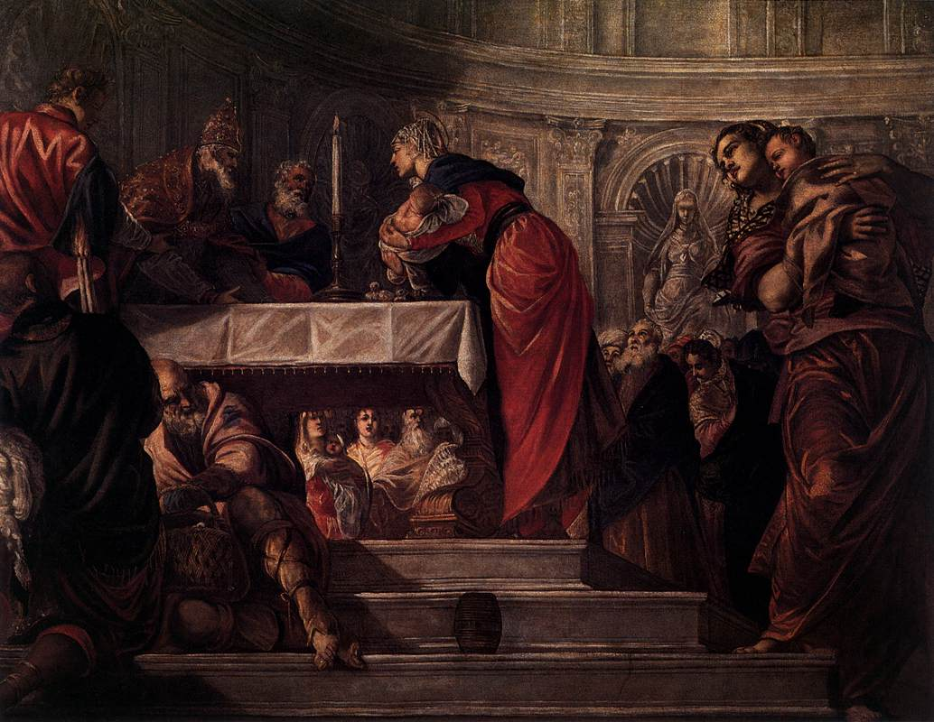 Today is the Feast of the Presentation of Christ in theTemple