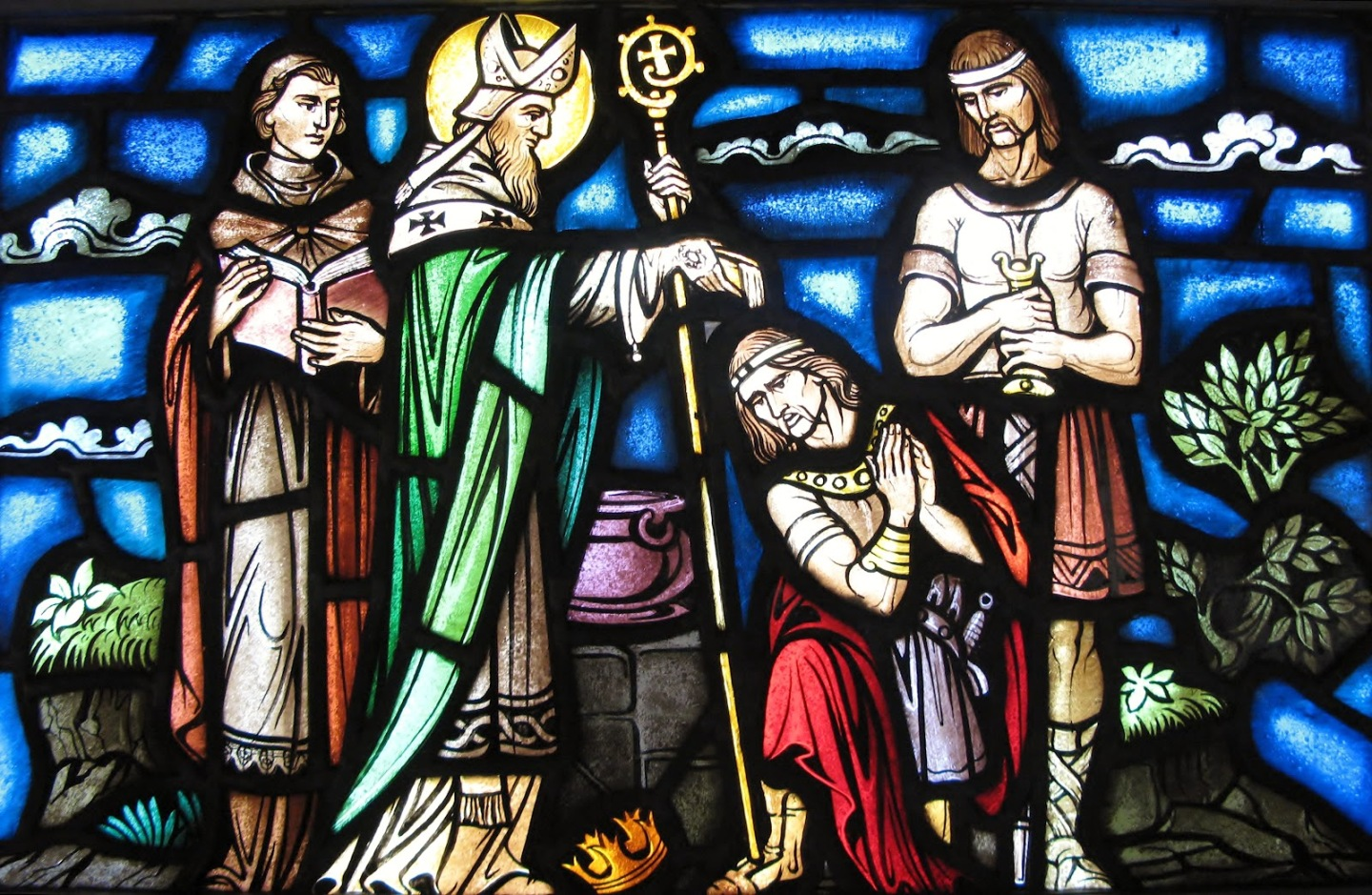 Today is the Feast of Saint Patrick, Missionary Bishop and Patron ofIreland